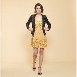 Promo : Robe fluide courte imprimé floral - 3S. x Le Vestiaire - Modalova