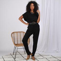 Promo : Combinaison pantalon croisée devant Karen - 3S. x Le Vestiaire - Modalova