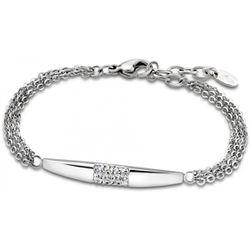 Bracelet Rainbow - Bracelet Acier Chaines Cristaux - LS1767-2-1 - Modalova
