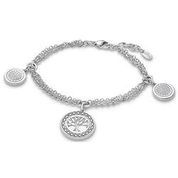Bracelet Lotus Style Rainbow - RAINBOW Acier Argenté - LS1869-2-1 - Modalova