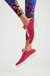 Chaussures de course léopard - RED - 41 - Desigual - Modalova
