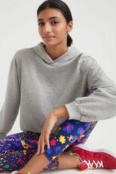 Sweat-shirt fourré à capuche - BLACK - XL - Desigual - Modalova