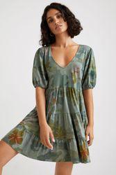 Robe courte loose - BLACK - L - Desigual - Modalova