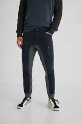 Pantalon jogger cargo hybride - BLUE - 30 - Desigual - Modalova