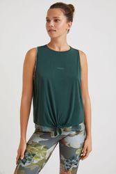 T-shirt double sans manches - BLACK - M - Desigual - Modalova