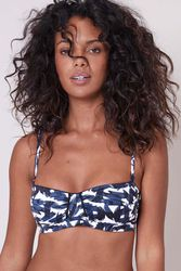 Haut de maillot de bain bandeau Sonia Marine-atlantique - Dessus Dessous_Affiliate - Modalova