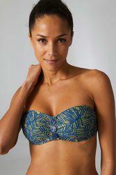 Haut de maillot de bain bandeau Palm Vert jungle - Dessus Dessous_Affiliate - Modalova