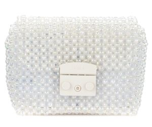 Sac à bandoulière Metropolis Mini avec perles transparentes - Furla - Modalova
