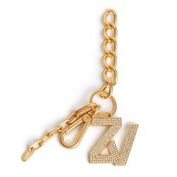 Porte-clés Zv Initiale Le Keyring Strass - Zadig & Voltaire - Modalova